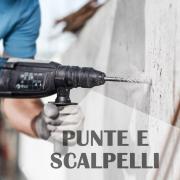PUNTE E SCALPELLI